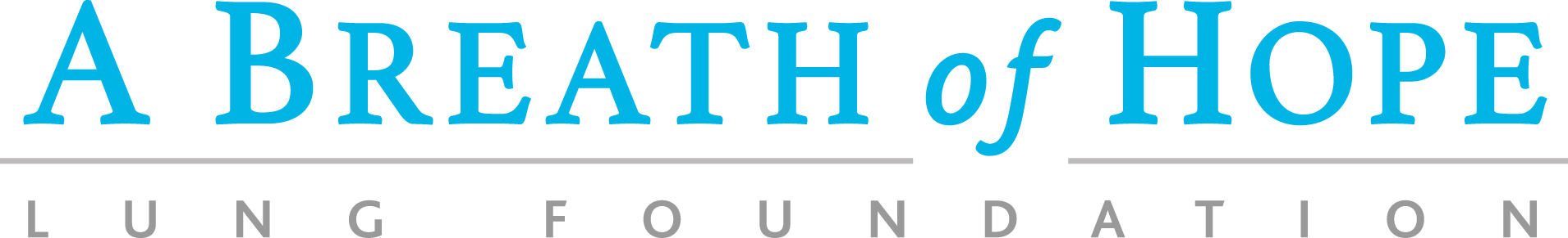 Breath of Hope Lung Foundation Logo
